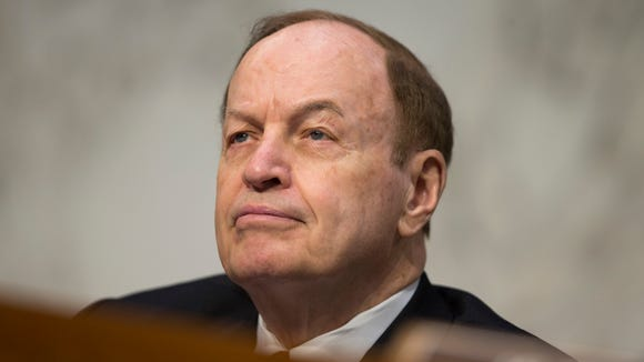 Senate Banking Committee Chairman Sen. Richard Shelby, R-Ala. listens as Federal Reserve Chair Janet Yellen testifies on U.S. monetary policy, Tuesday, JUne 21, 2016, on Capitol Hill in Washington.