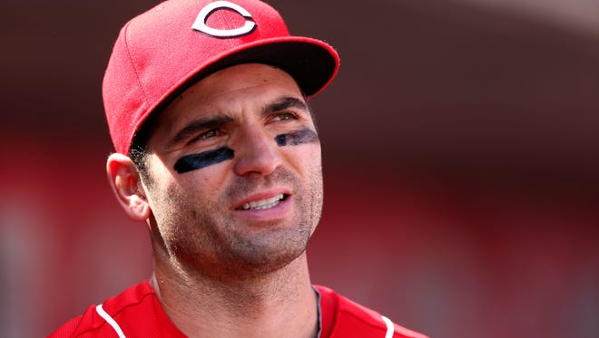 Reds first baseman Joey Votto.