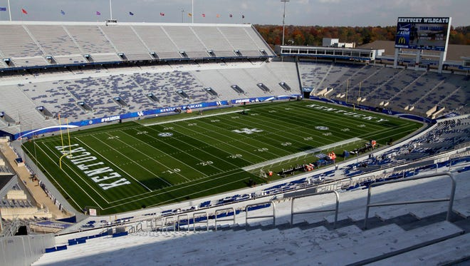 A general view of Commonwealth Stadium in November.