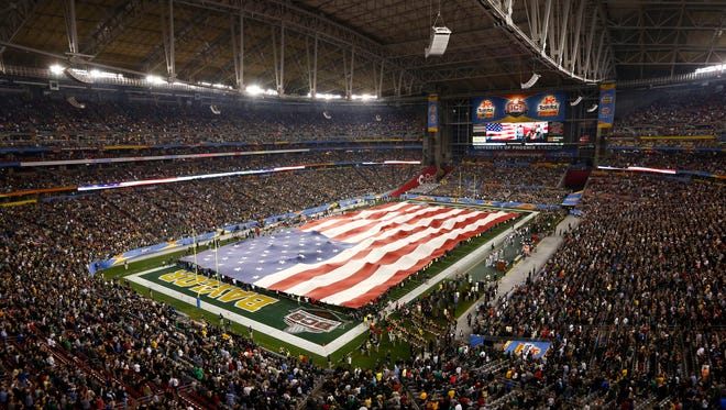 University of Phoenix Stadium in Glendale will host the 2016 National Championship Game for college football.