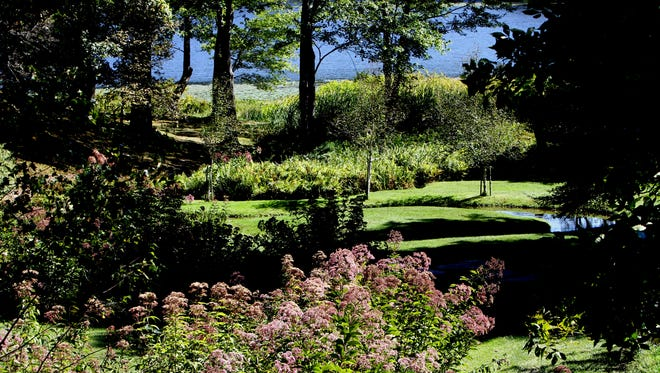 Innisfree Garden in Millbrook, NY, is one of the best places to go for a walk in the Hudson Valley.