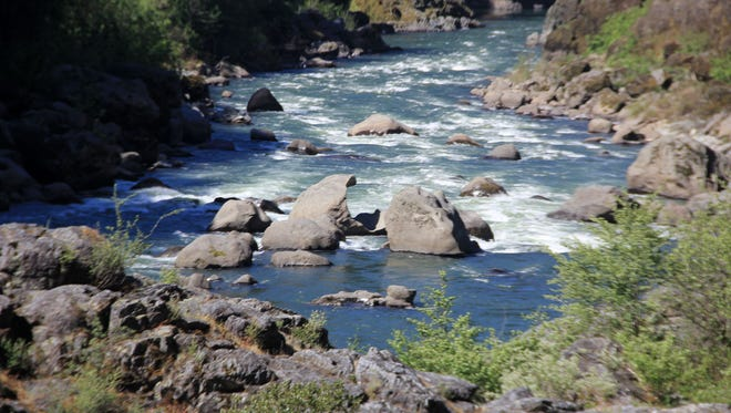 Blossom Bar rapids choke the 'wild' permit-controlled section of the Rogue River. The Class IV rapids, located about 52 miles upstream from Gold Beach and just upstream of Paradise Lodge, have caused seven fatal accidents since 2007.