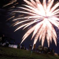 Fireworks in California.