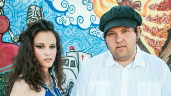 Margo Swann (L) and Richard Romero from Le Zets.