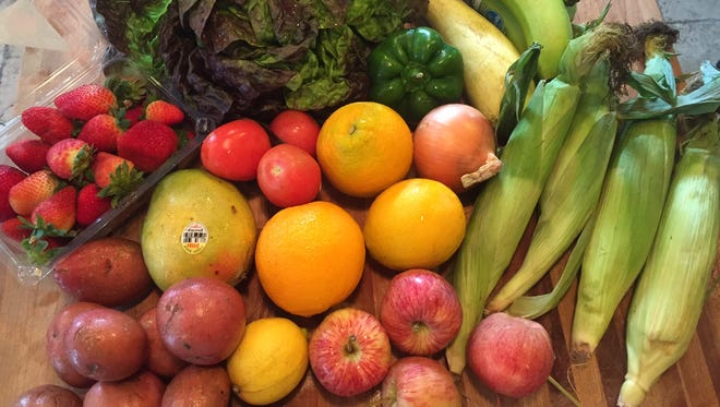 Most fruits and vegetables from Lily's Organic market are grown on certified organic farms.