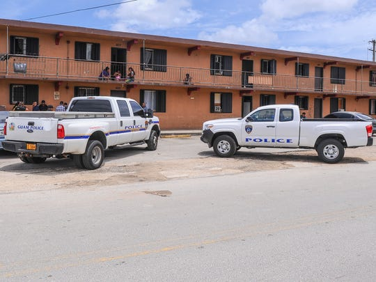 In this PDN file photo, Guam Police Department vehicles