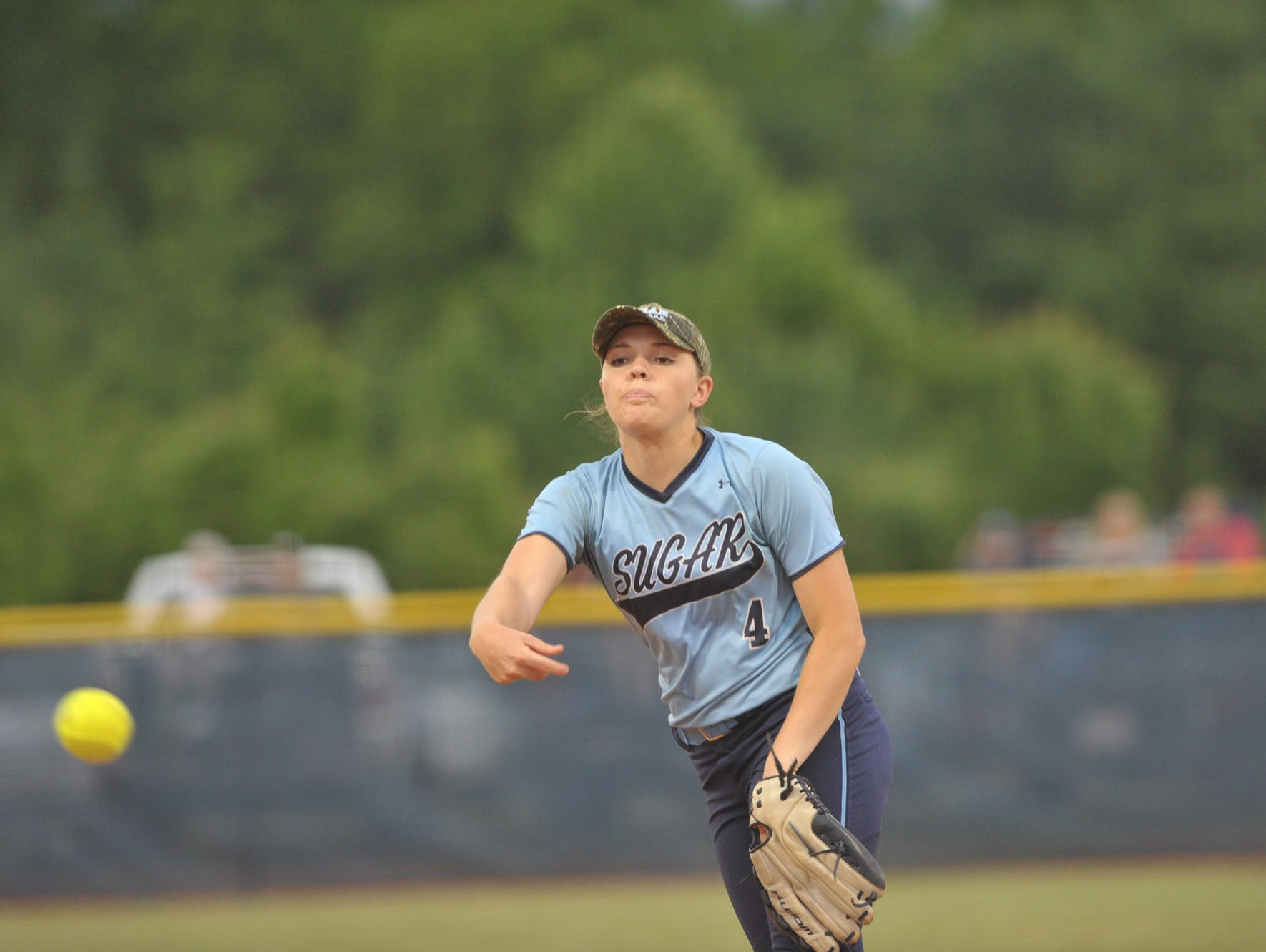 Enka senior Courtney Pearson has committed to play college softball for Queens.