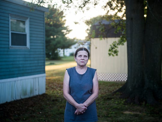 For years, Julie McIntosh gave little thought to what might be in her home drinking water. Now the resident of the New Oxford Mobile Home Park drinks from a filter attached to her kitchen faucet.