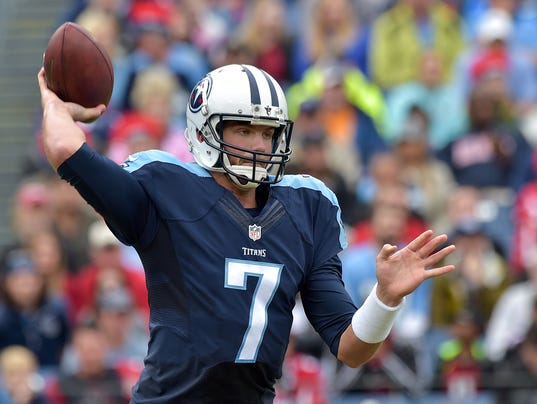 Chargers Pick Up Ex Titans Qb Zach Mettenberger Off Waivers