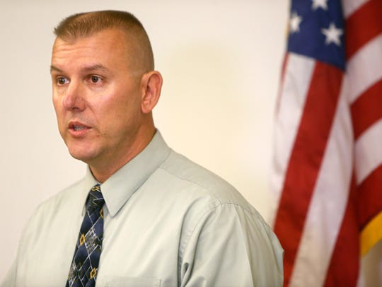 Cpt. Vance Holland, of the Springfield Police Department,