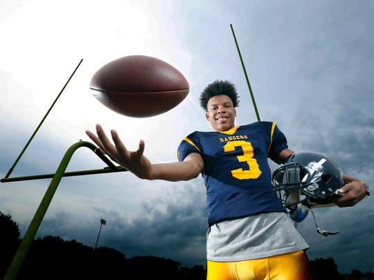 Alton Jones Jr., football running back at Spencerport.