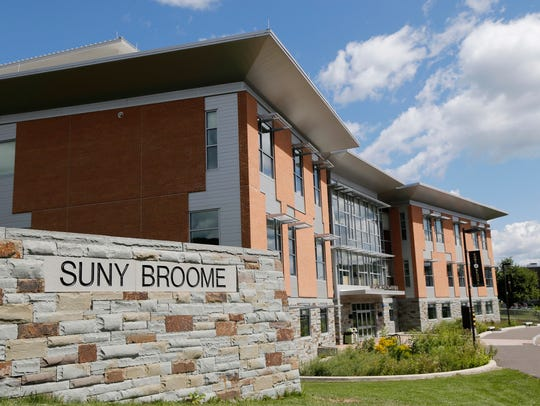 SUNY Broome Community College on Wednesday, August