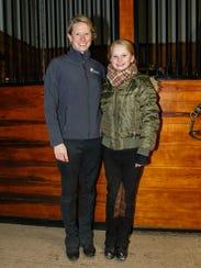 National equestrian champion Hadley Novak, 10, with