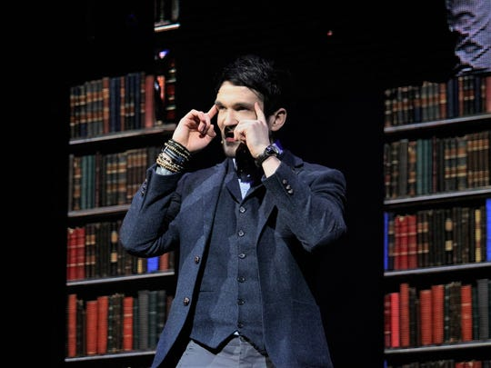 "Deductionist Colin Cloud is one of ""The Illusionists,"""