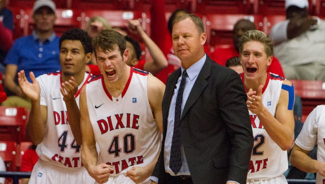 Dixie State takes on Seattle Pacific at the Burns Arena Saturday, Nov. 14, 2015.