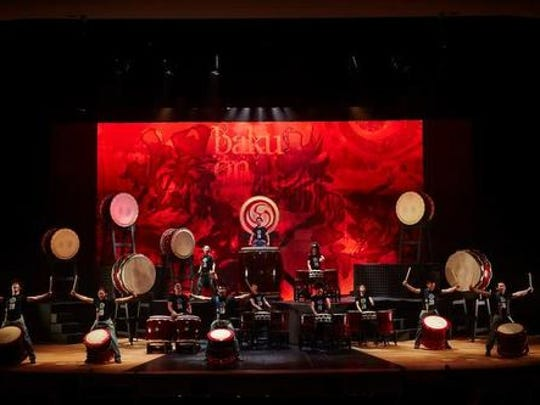 Yamato will perform at the Peace Center Feb. 17.