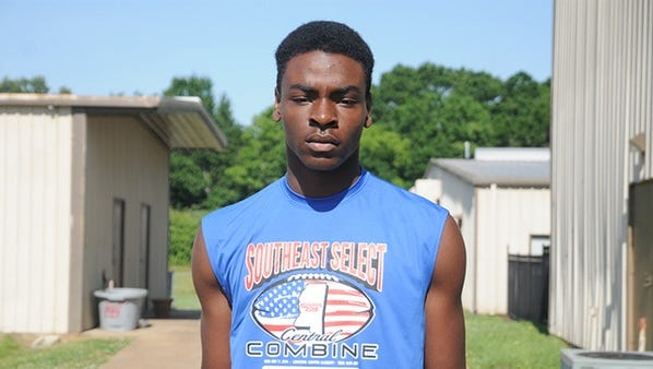 Pisgah athlete T.J. McGinnis is closing in on his first SEC offer