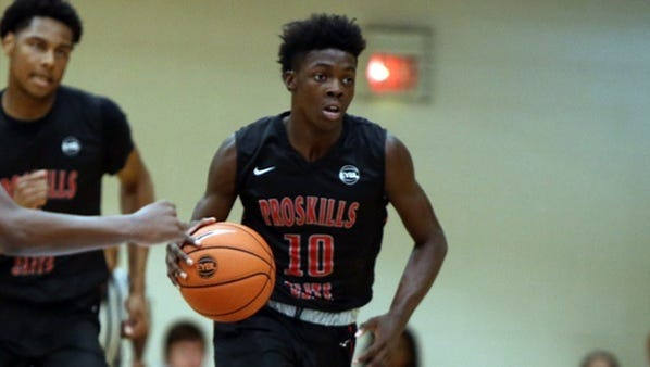 Texas guard Andrew Jones has become a hot prospect after a strong AAU circuit this summer.