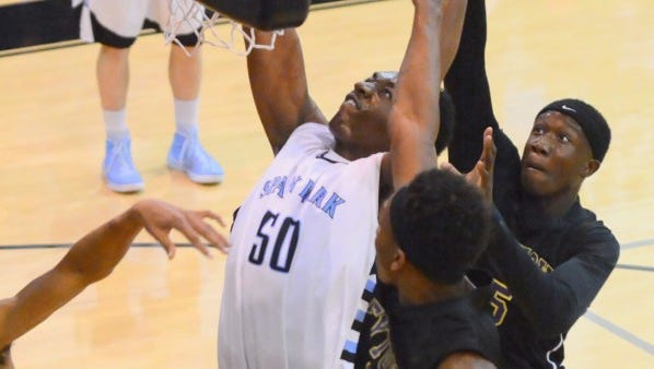 5-star center Austin Wiley Spain Park High School in Birmingham committed to Auburn Saturday.