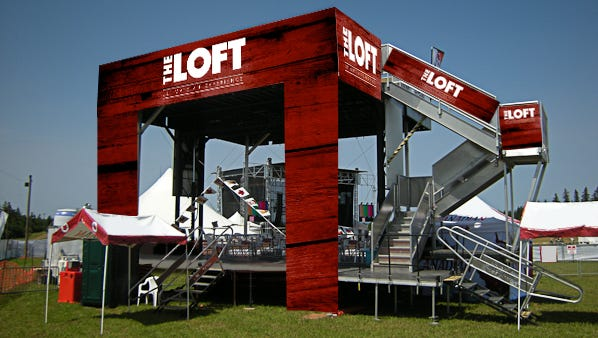 Delaware State Fair's new VIP loft will allow 100 fans to watch shows at the Grandstand like never before.