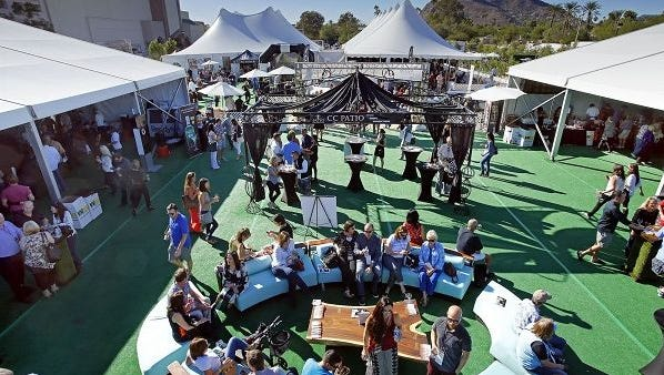 Scene from the 2015 azcentral.com Food and Wine Experience.