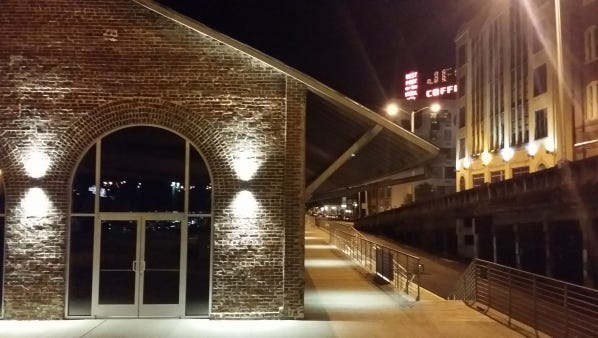The Old City Rail Station in downtown Knoxville.
