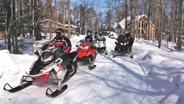 More than 25 cross-country ski trails are near the Maplewood Resort in Eagle River