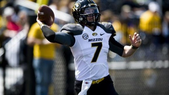 Maty Mauk and the Missouri Tigers will play for an SEC title for a second straight season in Saturday's title game against Alabama in Atlanta.