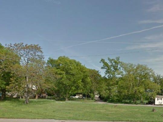 The vacant land Progressive Missionary Baptist Church
