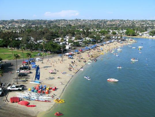 Campland Arial Beach2 Credit campland.com