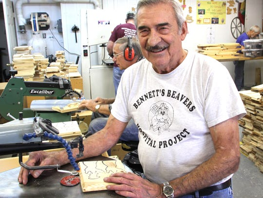 Hamburg Township volunteer Jim Bennett is founder of