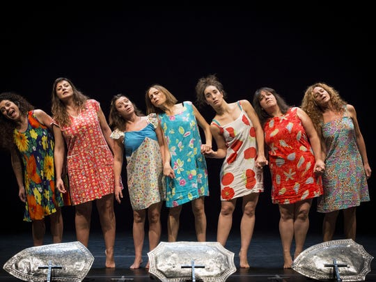"""The new play, """"The Sisters Macaluso"""" by Italian playwright Emma Dante has its American debut this weekend at MSU."""