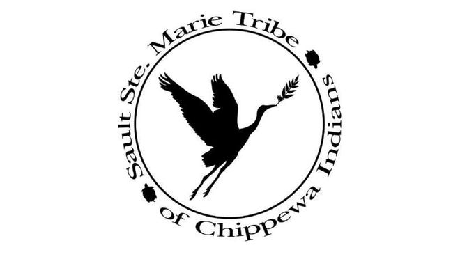 The Sault Ste. Marie Tribe of Chippewa Indians logo, as pictured.