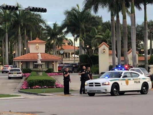 AP SHOTS FIRED TRUMP NATIONAL DORAL A USA FL
