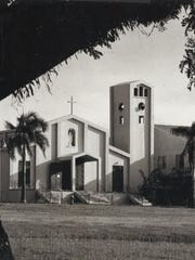 Our Lady of Mount Carmel Church, Agat, as photographed
