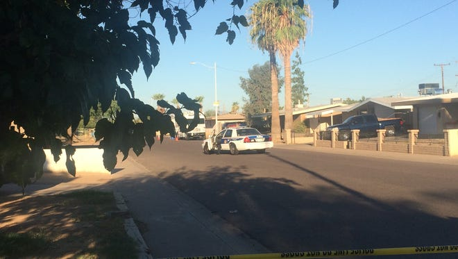 A resident of the 4600 block of 55th Avenue was fatally shot in an apparent home invasion early Friday morning, Phoenix police said.