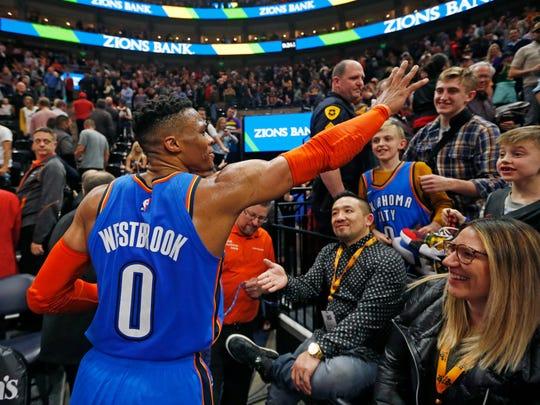 Russell Westbrook threatened a Jazz fan, but then we learned about the fan