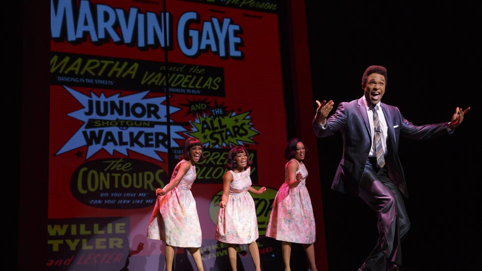 """The national Broadway-bound tour of """"Motown: The Musical"""""""