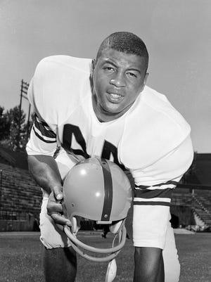 Ernie Davis as a junior at Syracuse in 1959. Davis went on to win the 1961 Heisman Trophy.