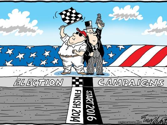 Elections Cartoon