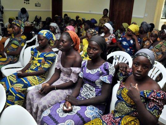 AP APTOPIX NIGERIA KIDNAPPED GIRLS I NGA