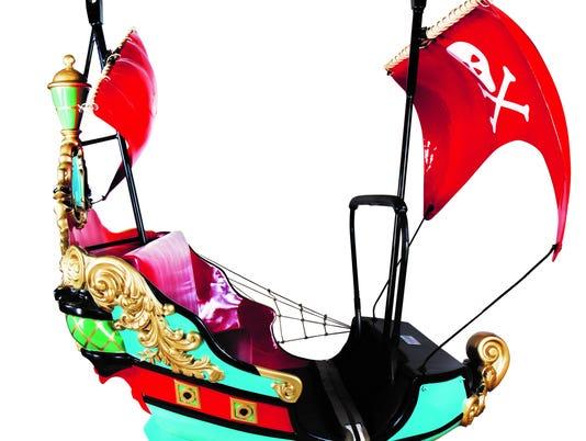 disneyland auction peter pan ship