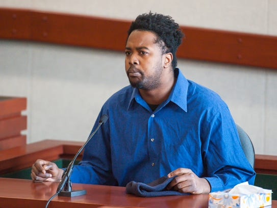 Samuel Alexander testifies during Chavis Murphy's trial