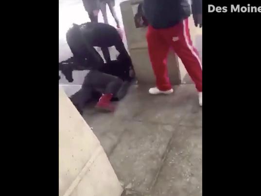 Video shows arrest