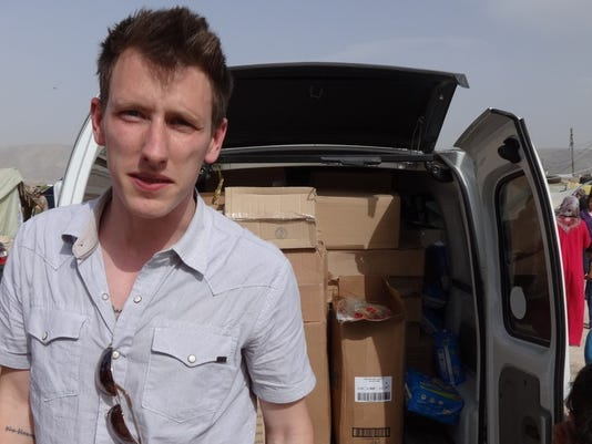 AP ISLAMIC STATE KASSIG A FILE