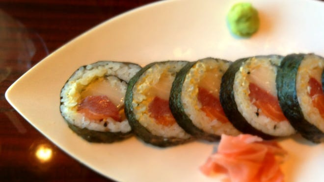 Rocking Indy roll from Sushi on the Rocks