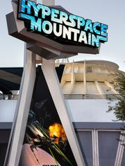 During Season of the Force, the classic Space Mountain