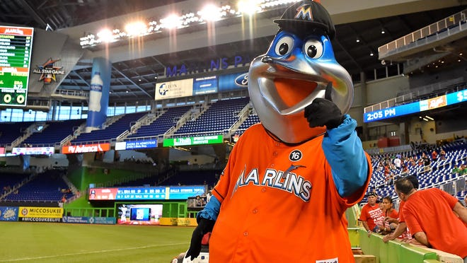 Billy the Marlin (Jasen Vinlove/USA TODAY Sports)