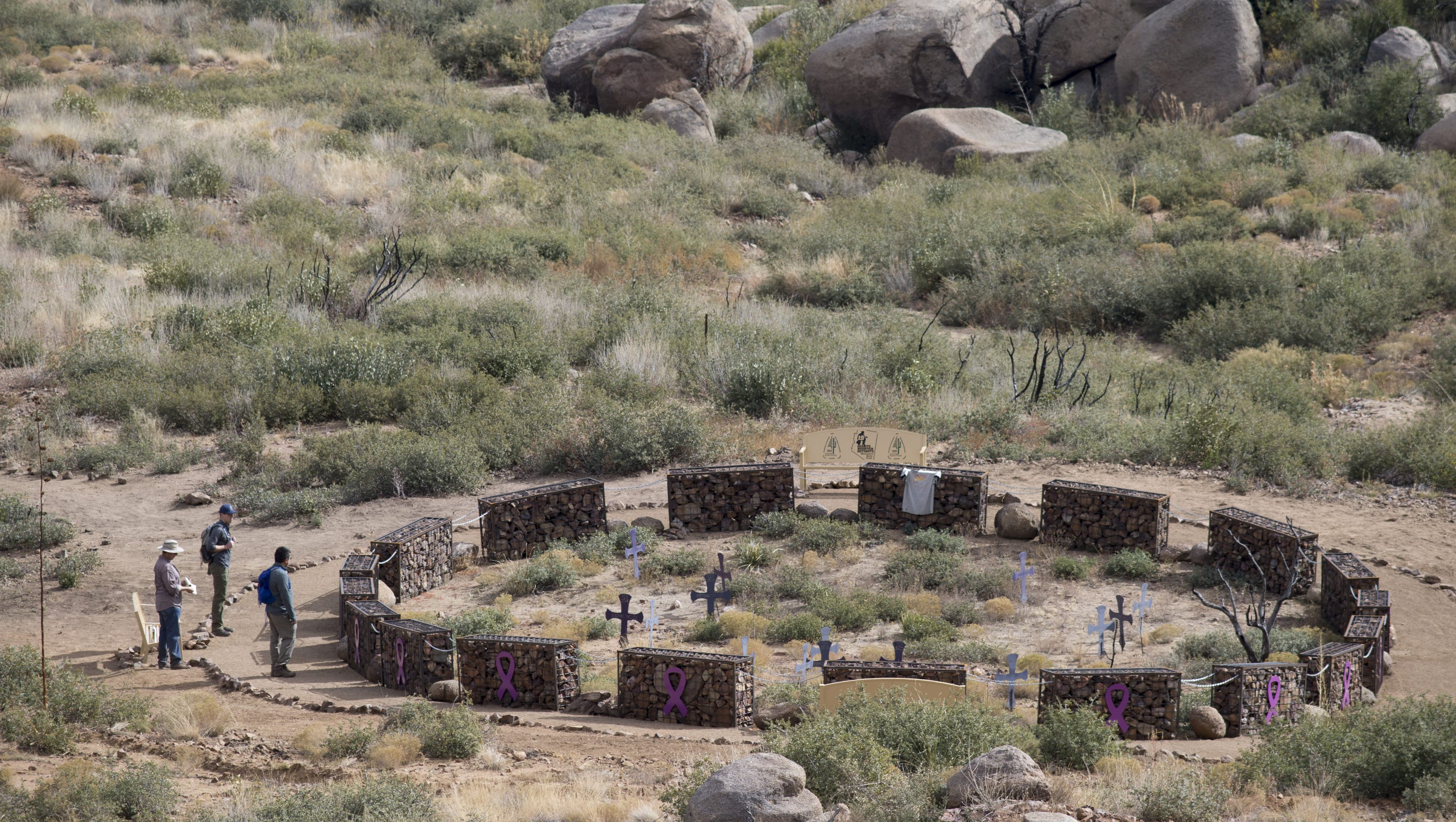 Granite Mountain Hot Shots : Along yarnell hill s scrubby trails and rough ridges a