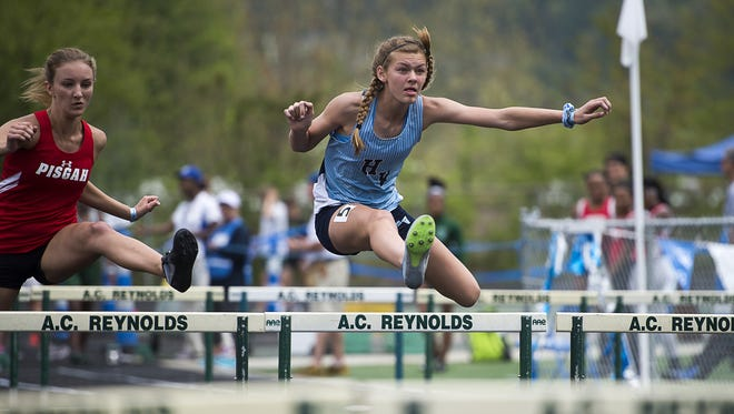 The Blue Ridge Classic track meet was held April 22 at Reynolds.
